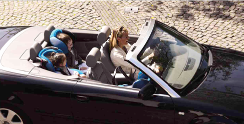 A Cabriolet Child Seats - Audi baby car seat